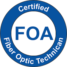 Fiber Optic Technician Logo