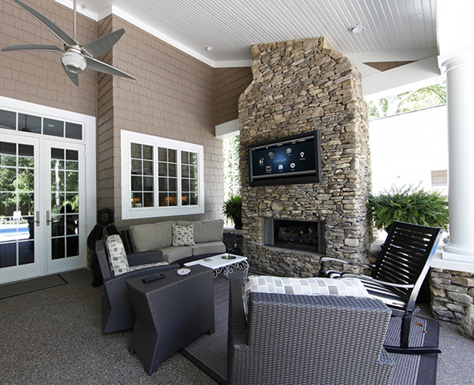 Cozy Outdoor Living Area